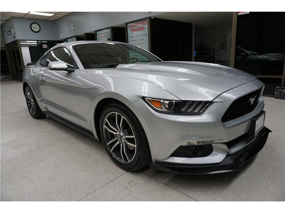 Used 2016 Ford Mustang EcoBoost Premium Coupe 2D in Sacramento, CA