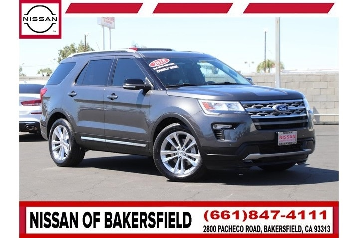 Used 2018 Ford Explorer XLT in Bakersfield, CA