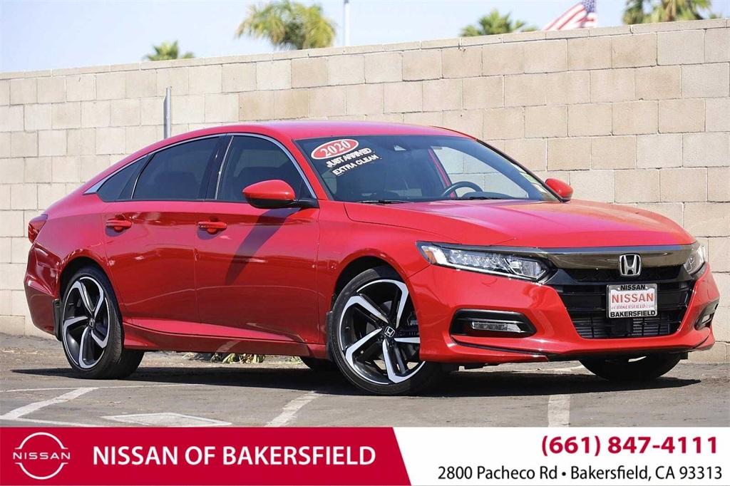 Used 2020 Honda Accord Sport in Bakersfield, CA