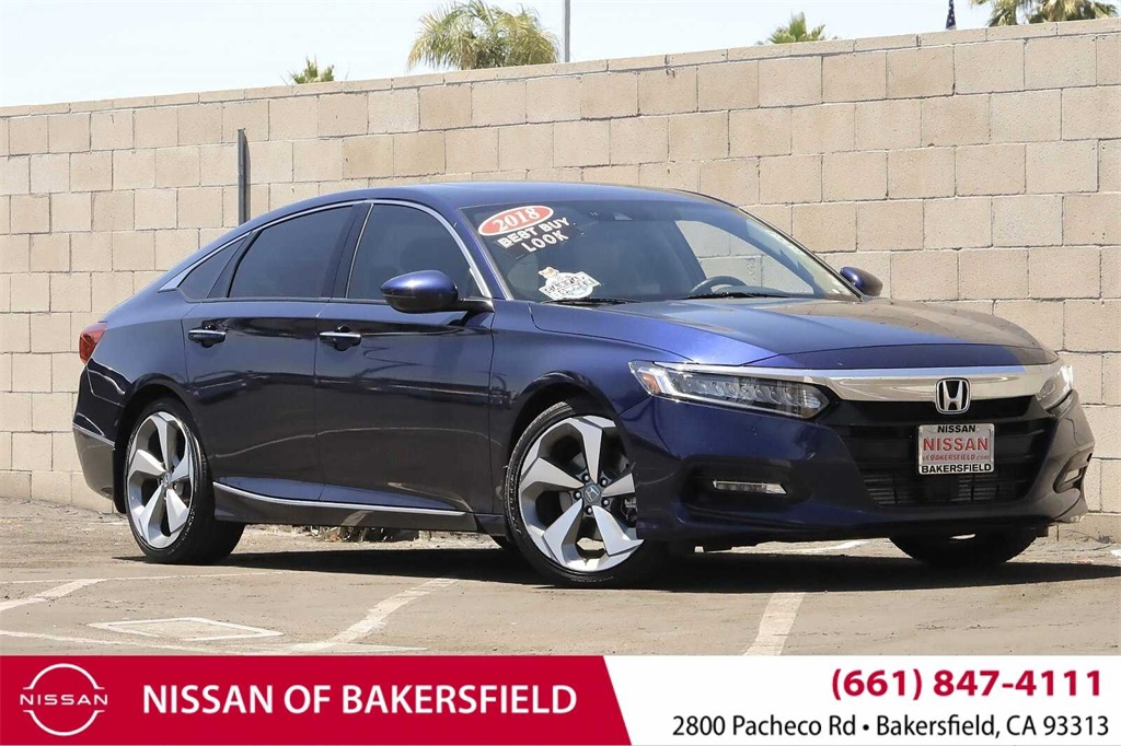 Used 2018 Honda Accord Touring in Bakersfield, CA