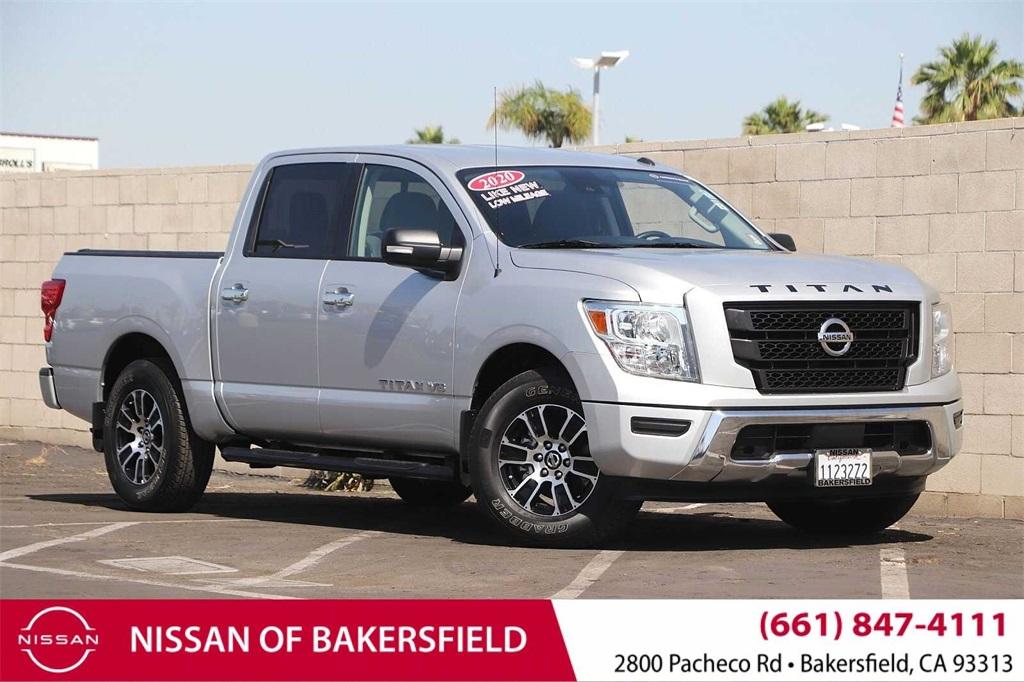 Used 2020 Nissan Titan SV in Bakersfield, CA
