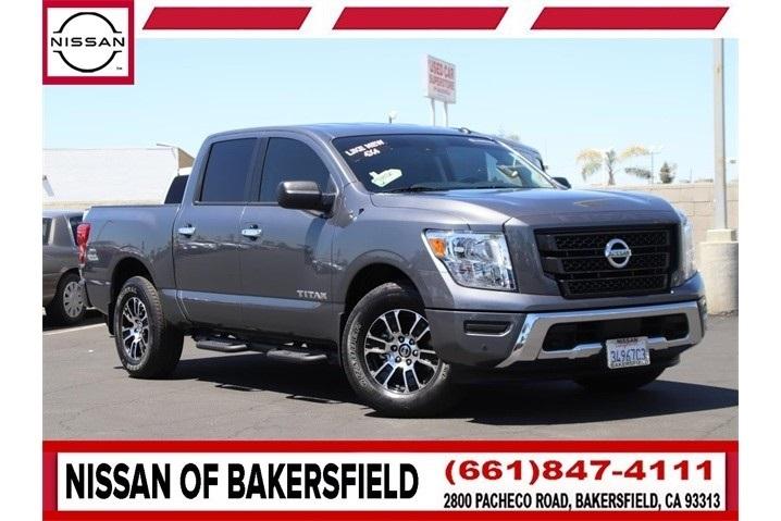 Used 2021 Nissan Titan SV in Bakersfield, CA