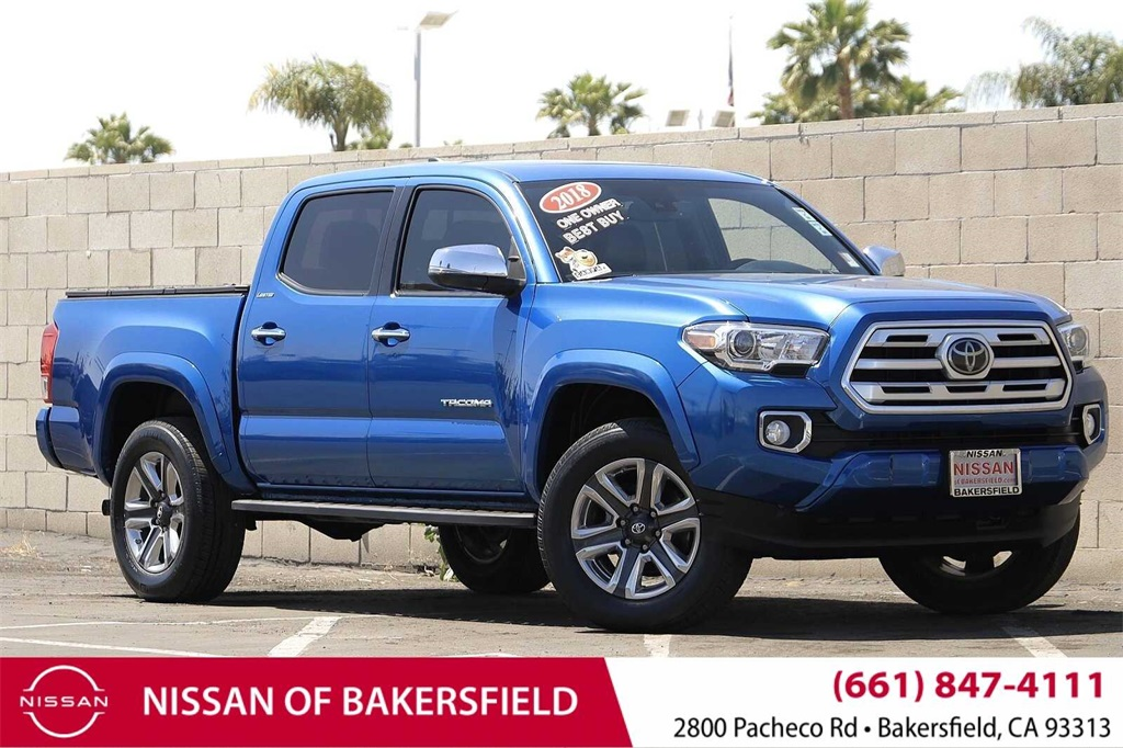 Used 2018 Toyota Tacoma Limited in Bakersfield, CA