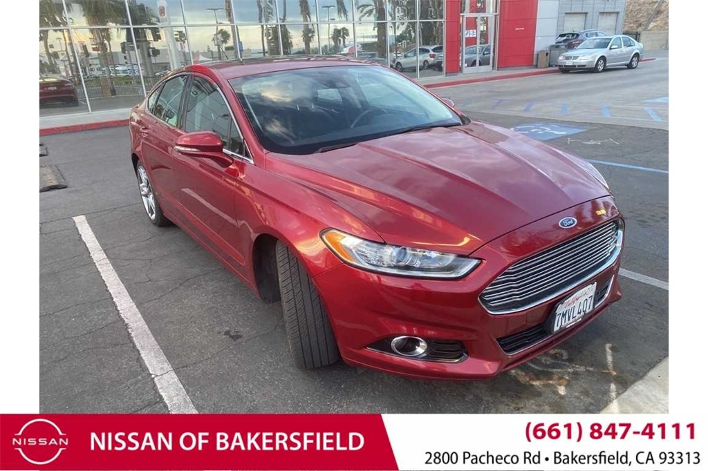 Used 2016 Ford Fusion Titanium in Bakersfield, CA