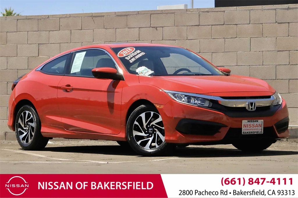Used 2018 Honda Civic LX-P in Bakersfield, CA