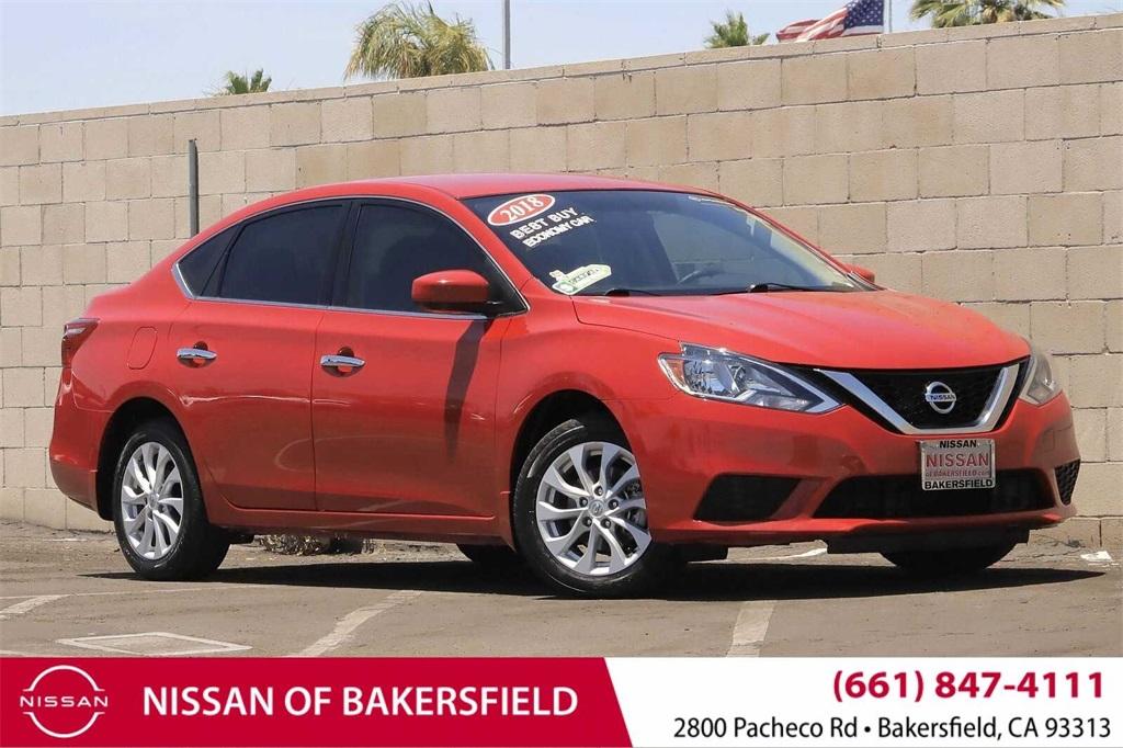 Used 2018 Nissan Sentra SV in Bakersfield, CA