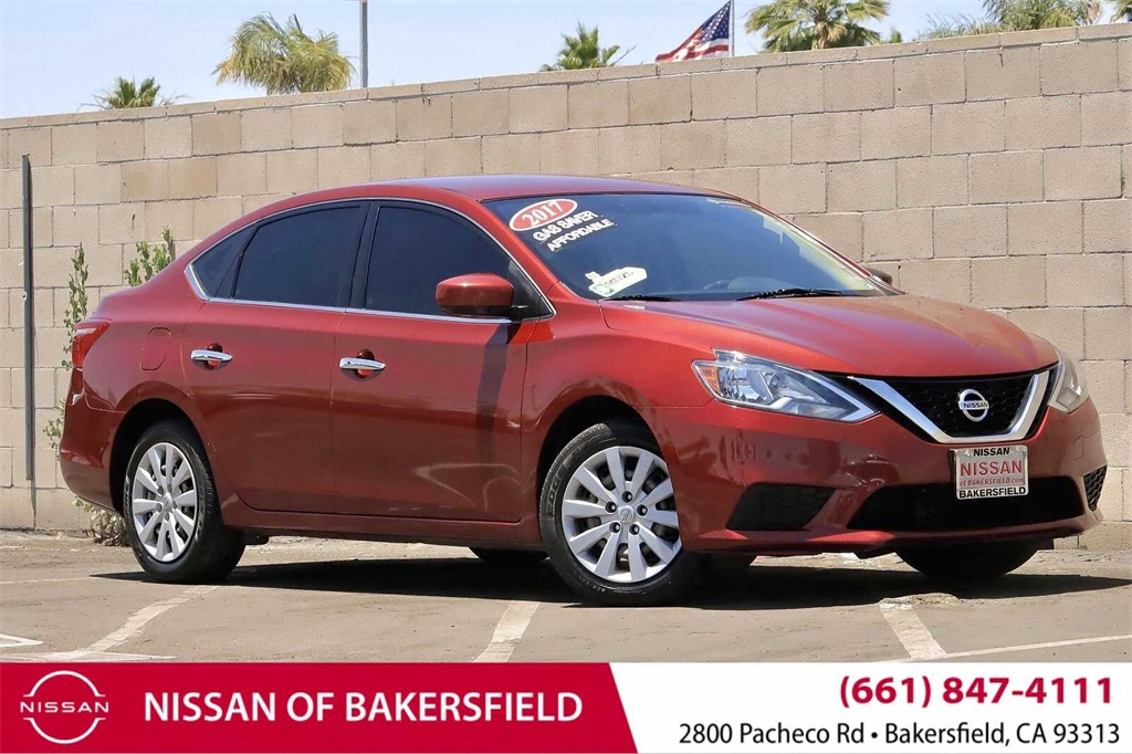 Used 2017 Nissan Sentra SV in Bakersfield, CA