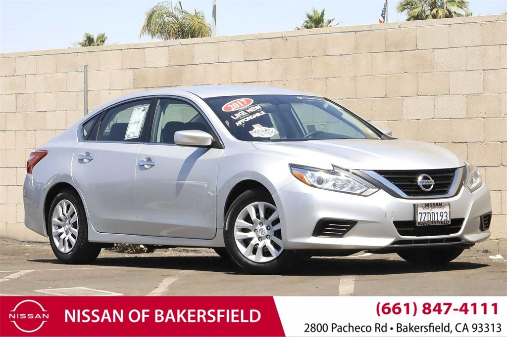 Used 2017 Nissan Altima 2.5 S in Bakersfield, CA