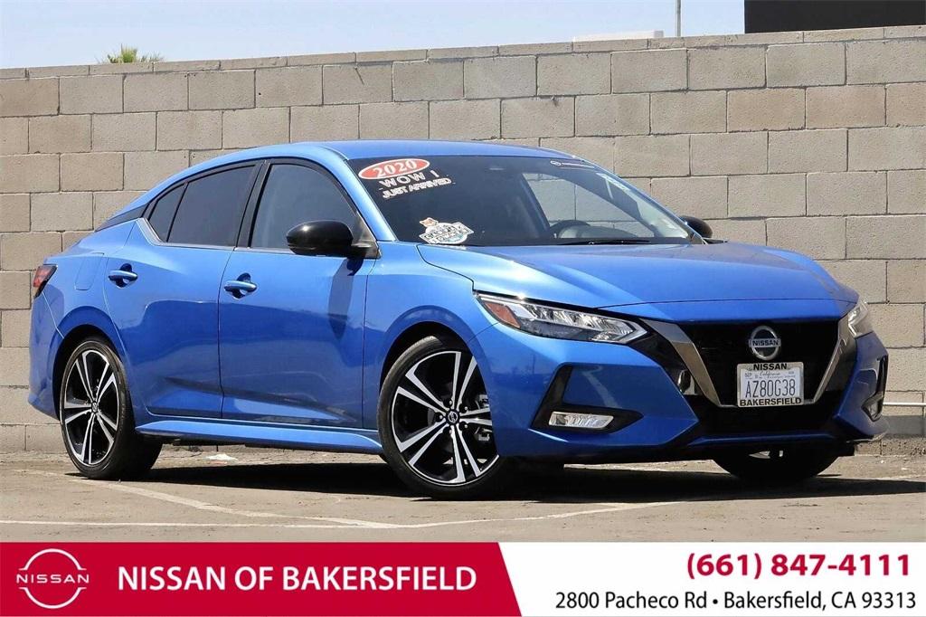 Used 2020 Nissan Sentra SR in Bakersfield, CA