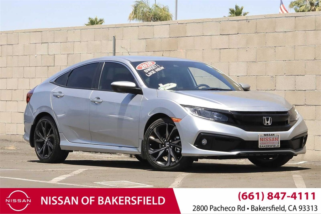 Used 2020 Honda Civic Sport in Bakersfield, CA