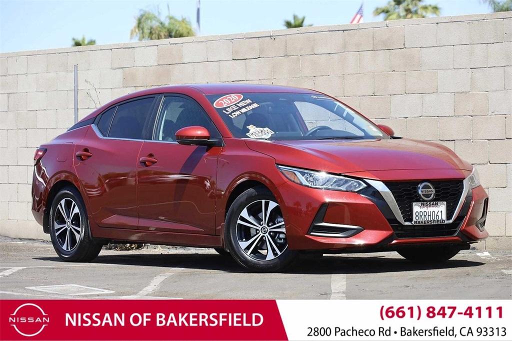 Used 2020 Nissan Sentra SV in Bakersfield, CA