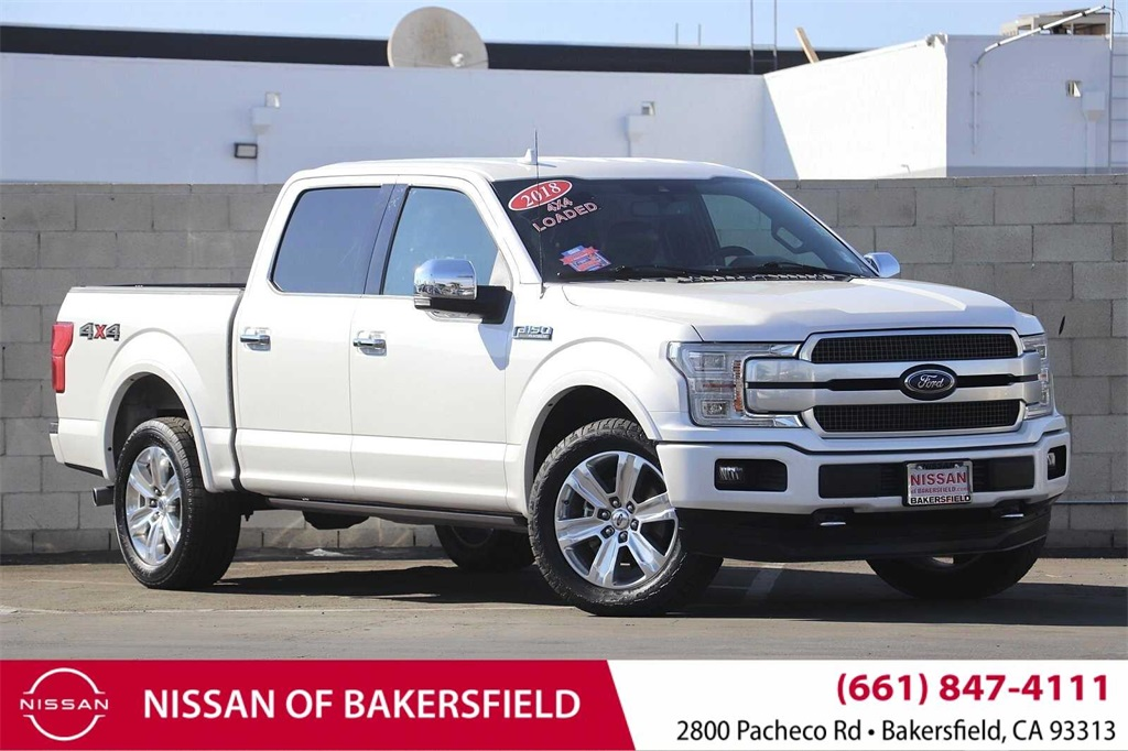 Used 2018 Ford F-150 Platinum in Bakersfield, CA