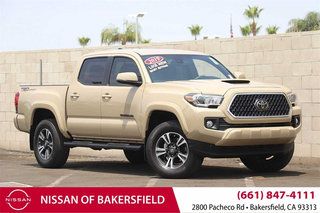 Used 2019 Toyota Tacoma TRD Sport in Bakersfield, CA