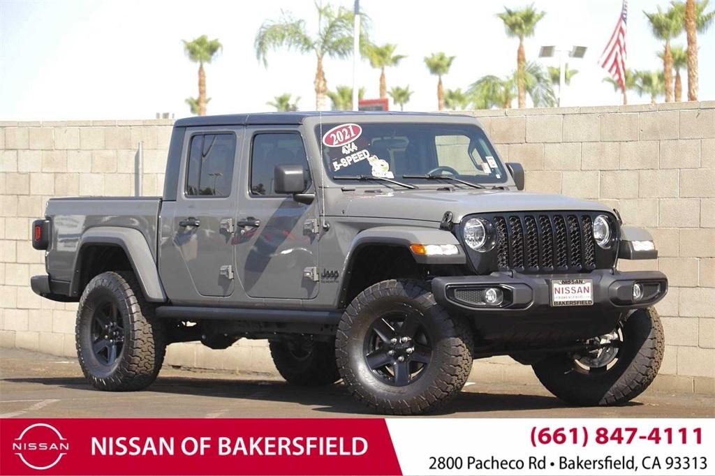 Used 2021 Jeep Gladiator Sport in Bakersfield, CA