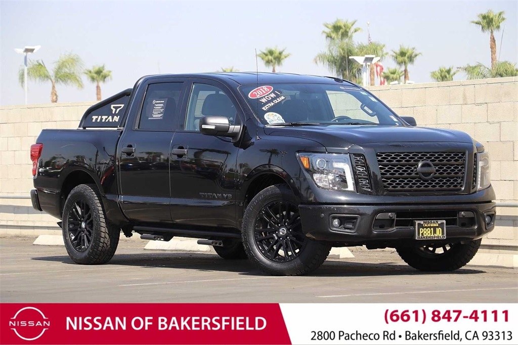 Used 2018 Nissan Titan SV in Bakersfield, CA