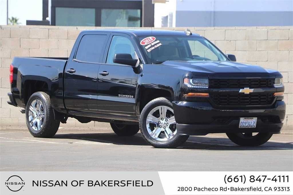 Used 2018 Chevrolet Silverado 1500 Custom in Bakersfield, CA
