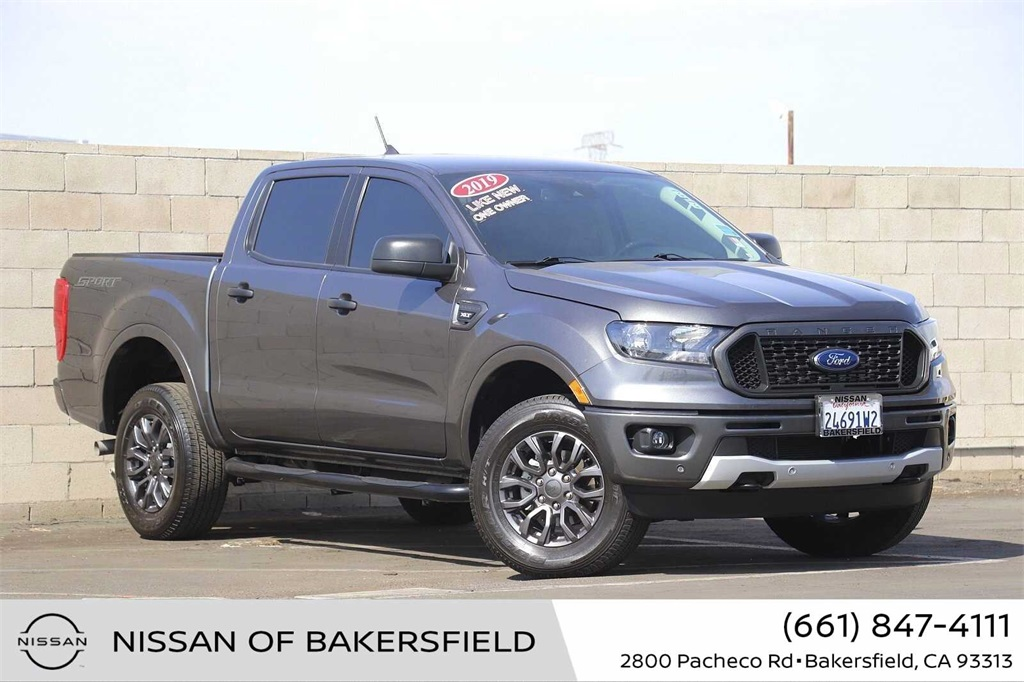 Used 2019 Ford Ranger XLT in Bakersfield, CA