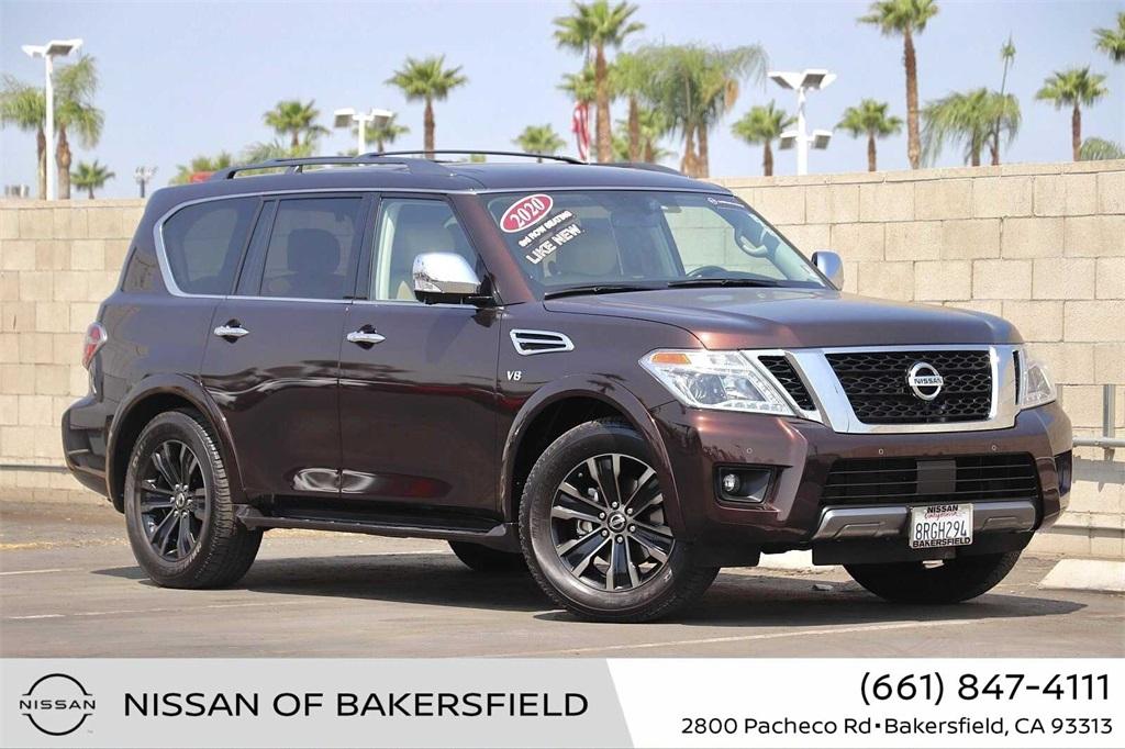 Used 2020 Nissan Armada Platinum in Bakersfield, CA