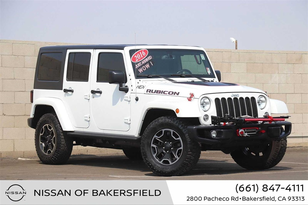 Used 2016 Jeep Wrangler Unlimited Rubicon in Bakersfield, CA
