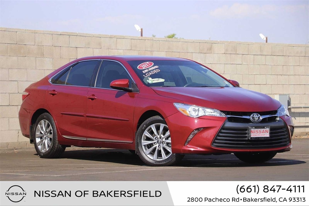 Used 2017 Toyota Camry XLE in Bakersfield, CA
