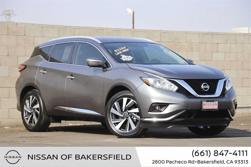 Used 2018 Nissan Murano Platinum in Bakersfield, CA