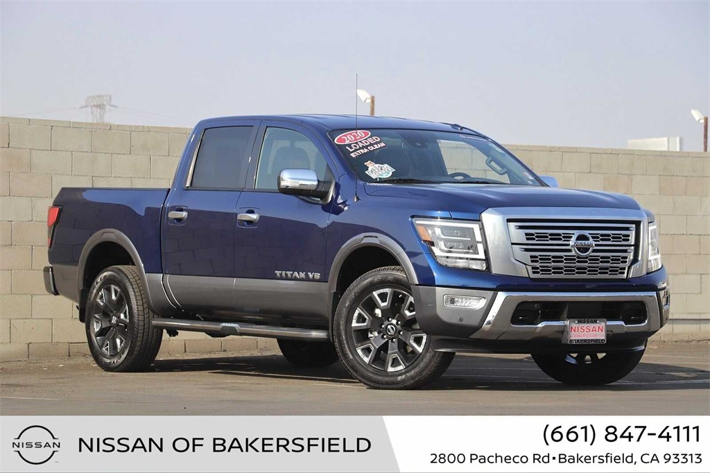 Used 2020 Nissan Titan Platinum Reserve in Bakersfield, CA