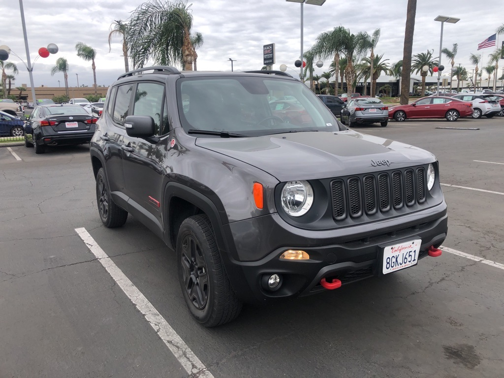 Used 2018 Jeep Renegade Trailhawk in Bakersfield, CA