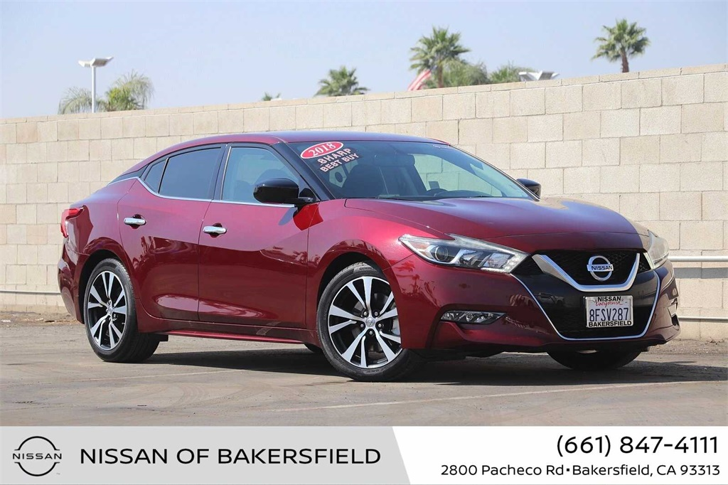 Used 2018 Nissan Maxima 3.5 S in Bakersfield, CA