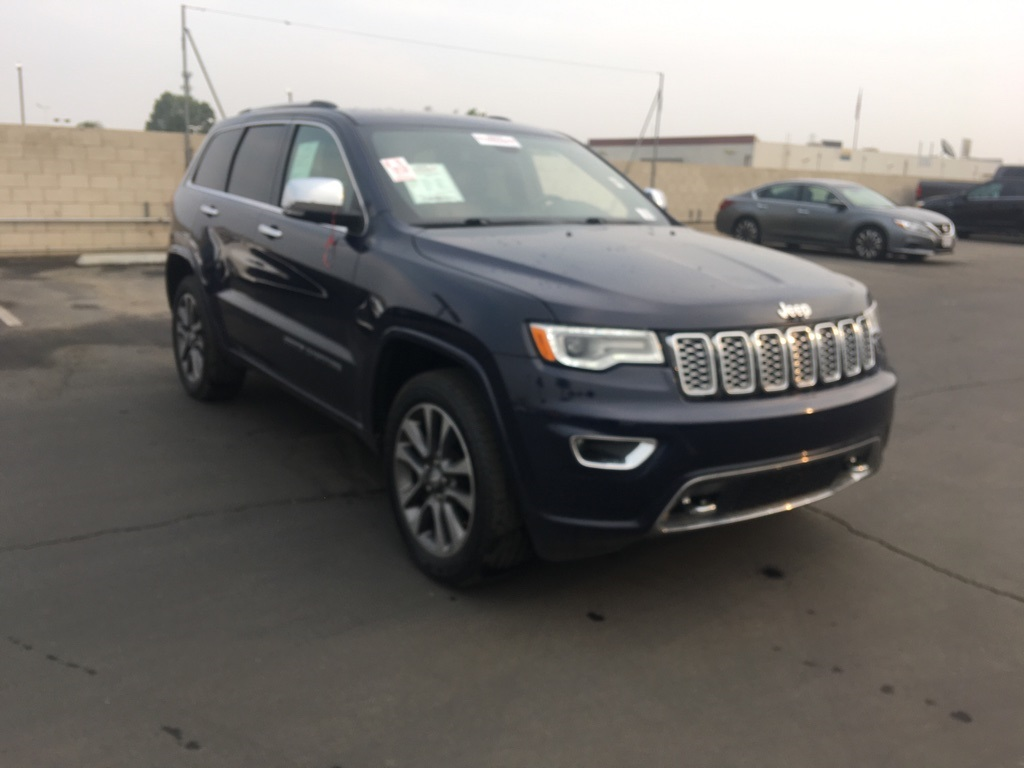 Used 2018 Jeep Grand Cherokee Overland in Bakersfield, CA