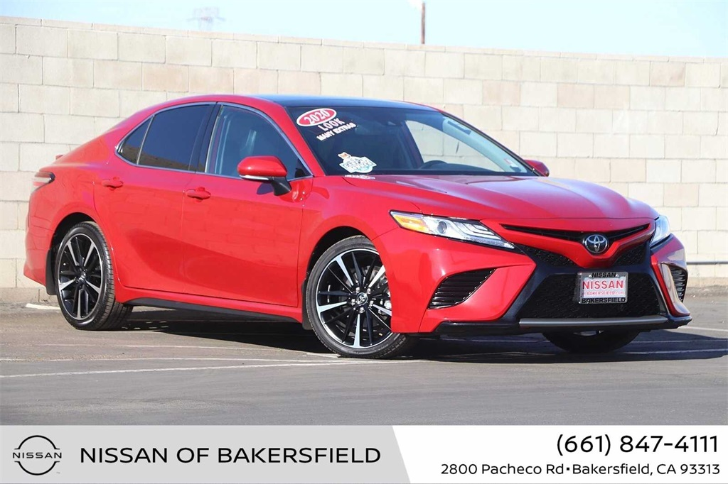 Used 2020 Toyota Camry XSE in Bakersfield, CA