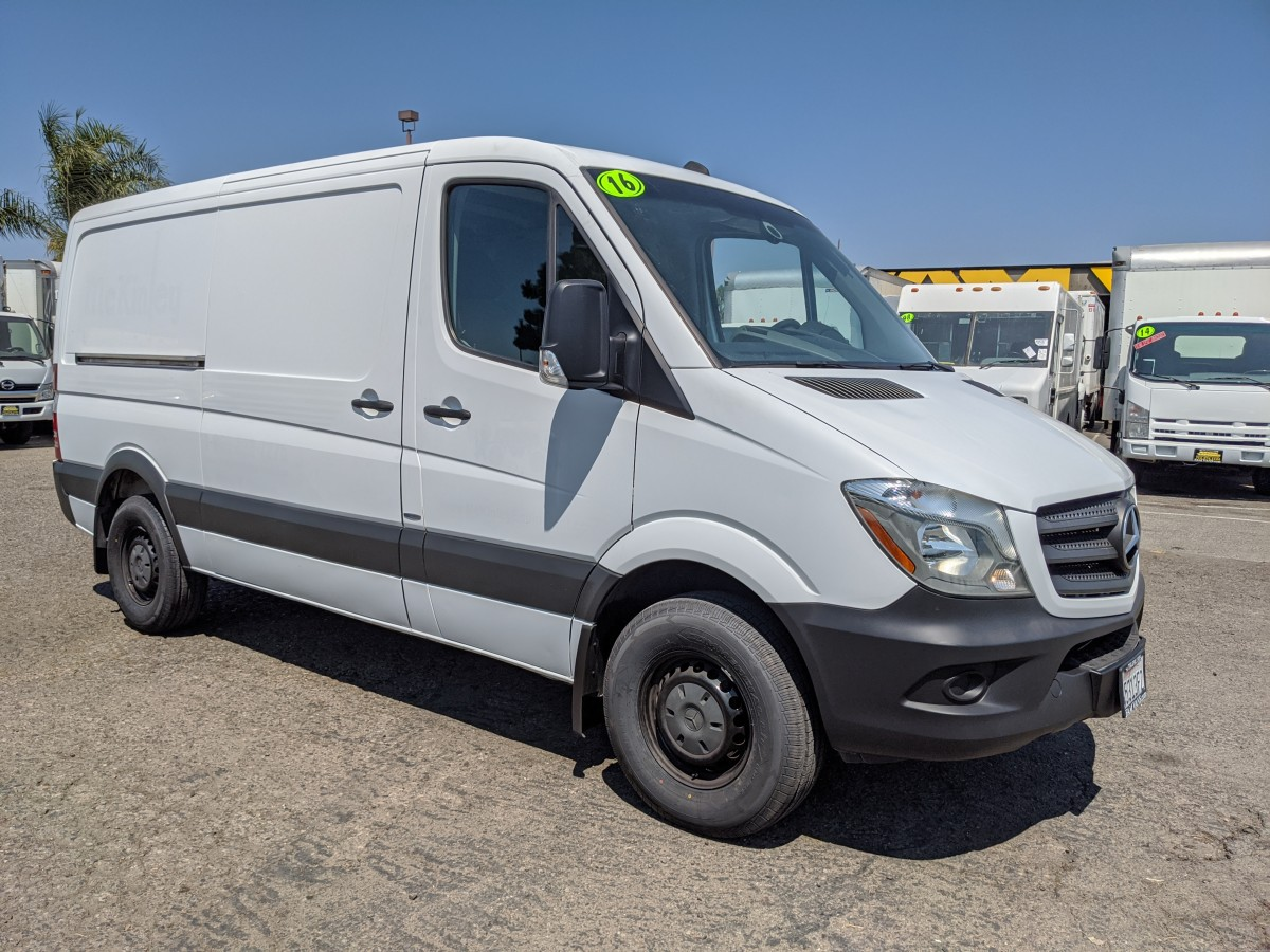 Used 2016 Mercedes-Benz Sprinter 2500 Low Roof Cargo Van DIESEL in Fountain Valley, CA