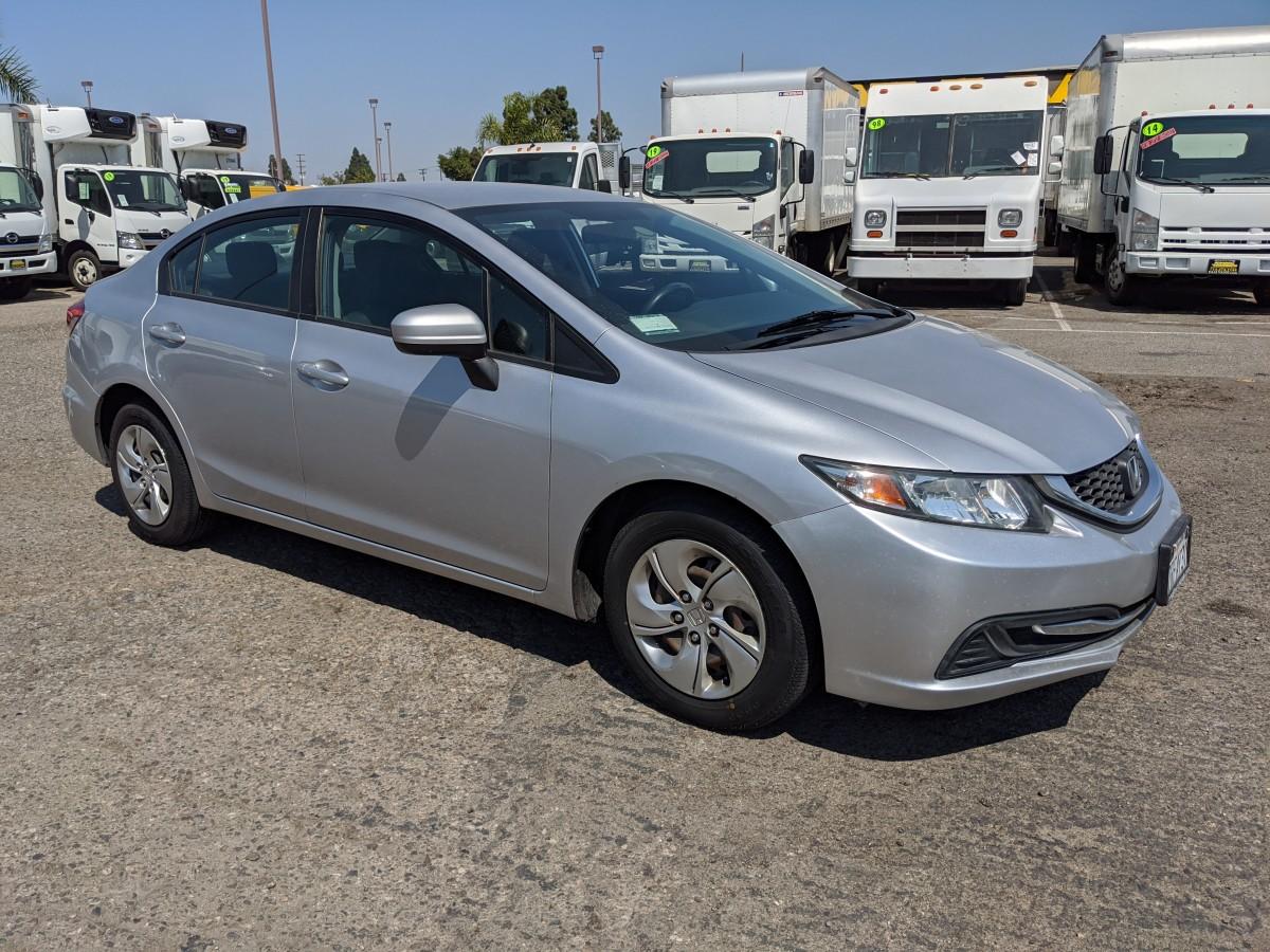 Used 2015 Honda Civic LX Sedan in Fountain Valley, CA
