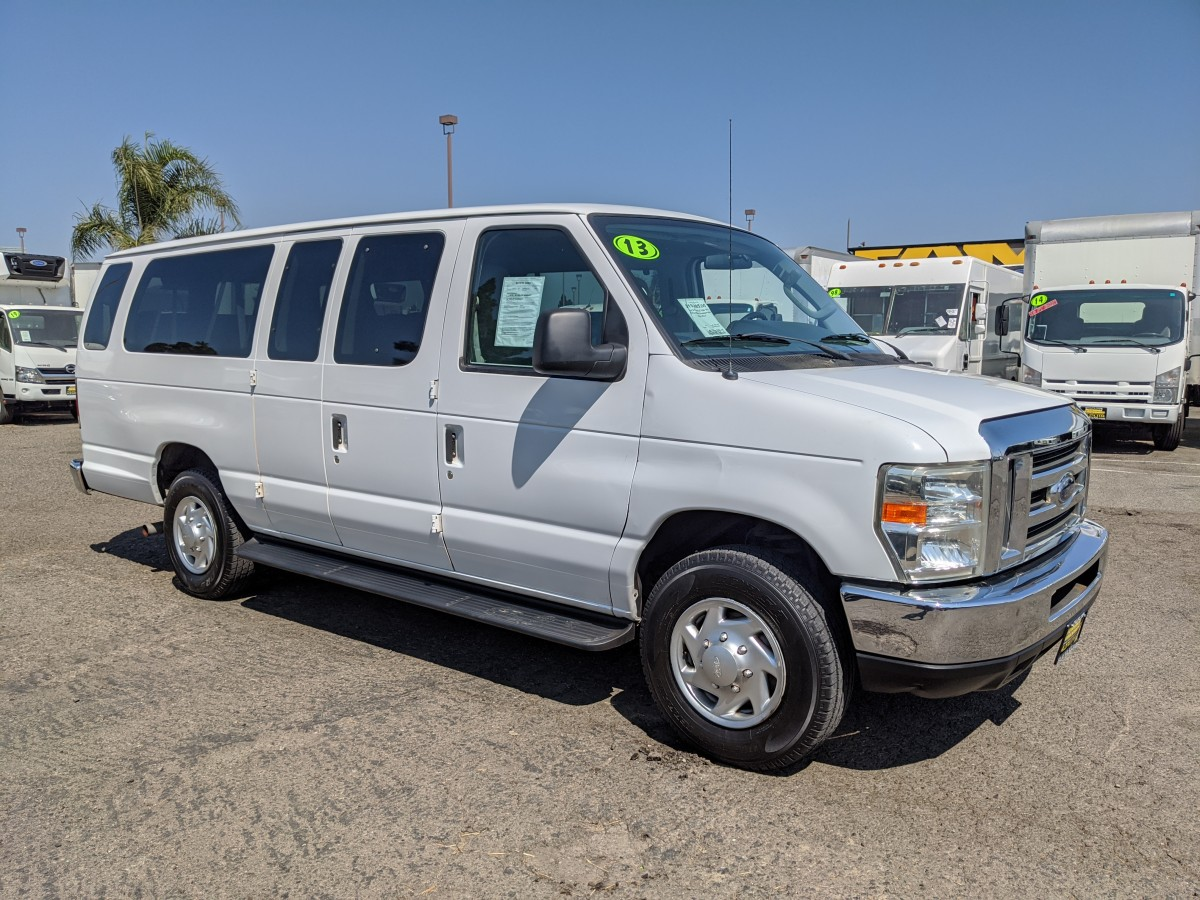 Used 2012 Ford E-350 SD Extended 15 Passenger Van XLT in Fountain Valley, CA