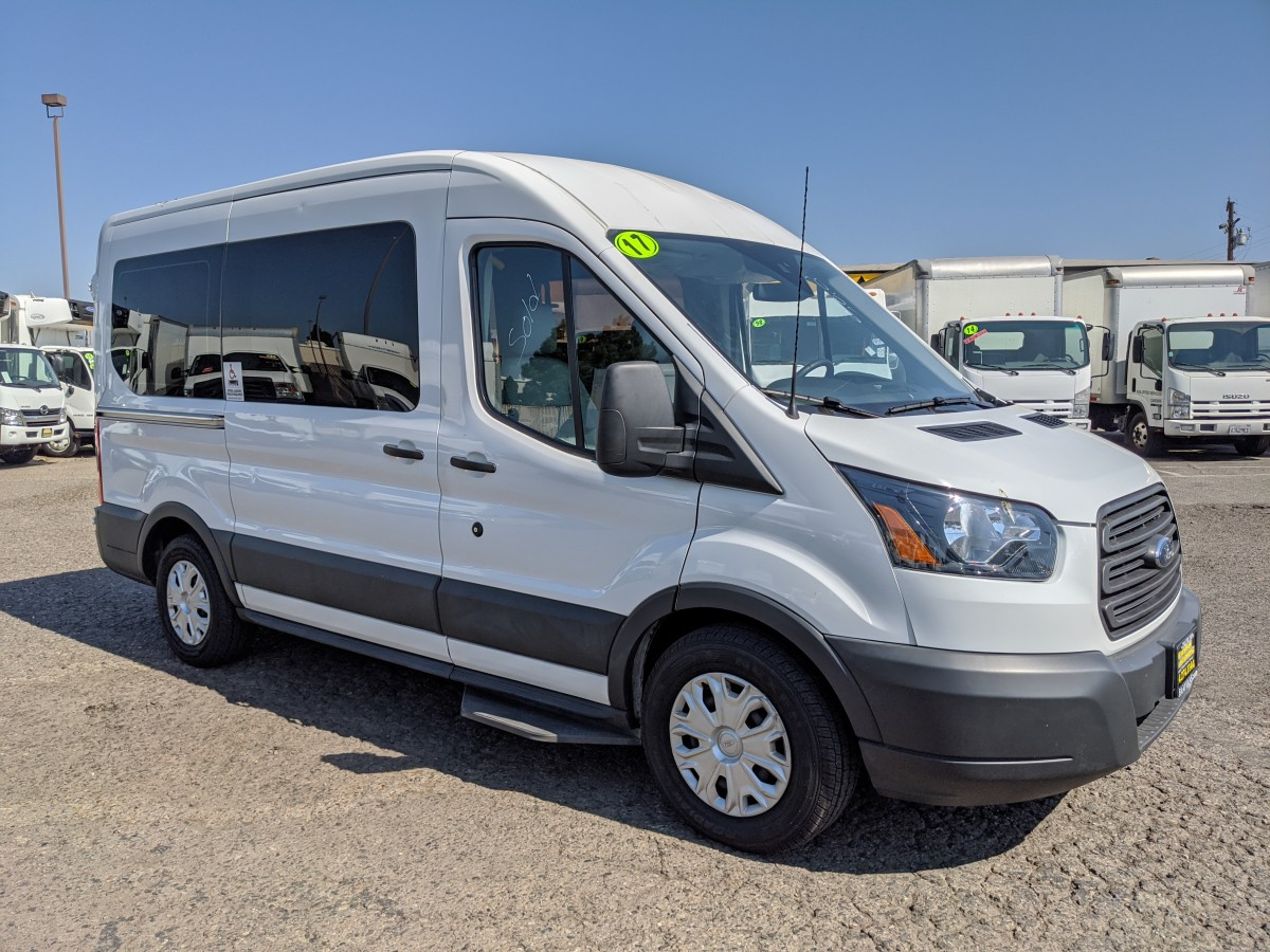 Used 2017 Ford Transit-150 Mid Roof Wheelchair Access Handicap Van  in Fountain Valley, CA