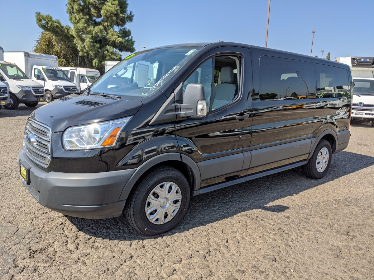 Used 2016 Ford Transit-150 Low Roof 8 Passenger Van in Fountain Valley, CA
