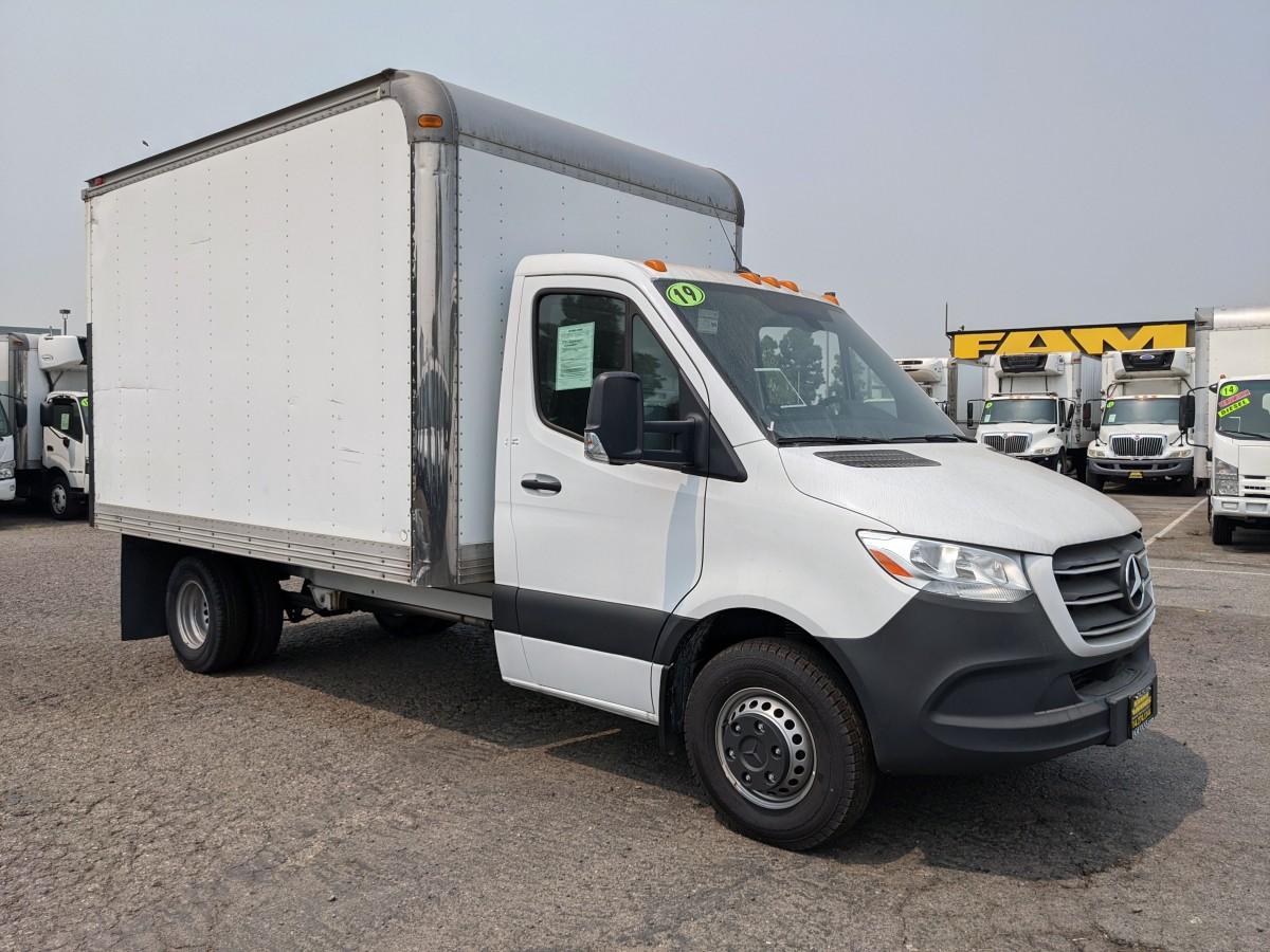 Used 2019 Mercedes-Benz Sprinter 3500 12FT Box Truck DIESEL in Fountain Valley, CA