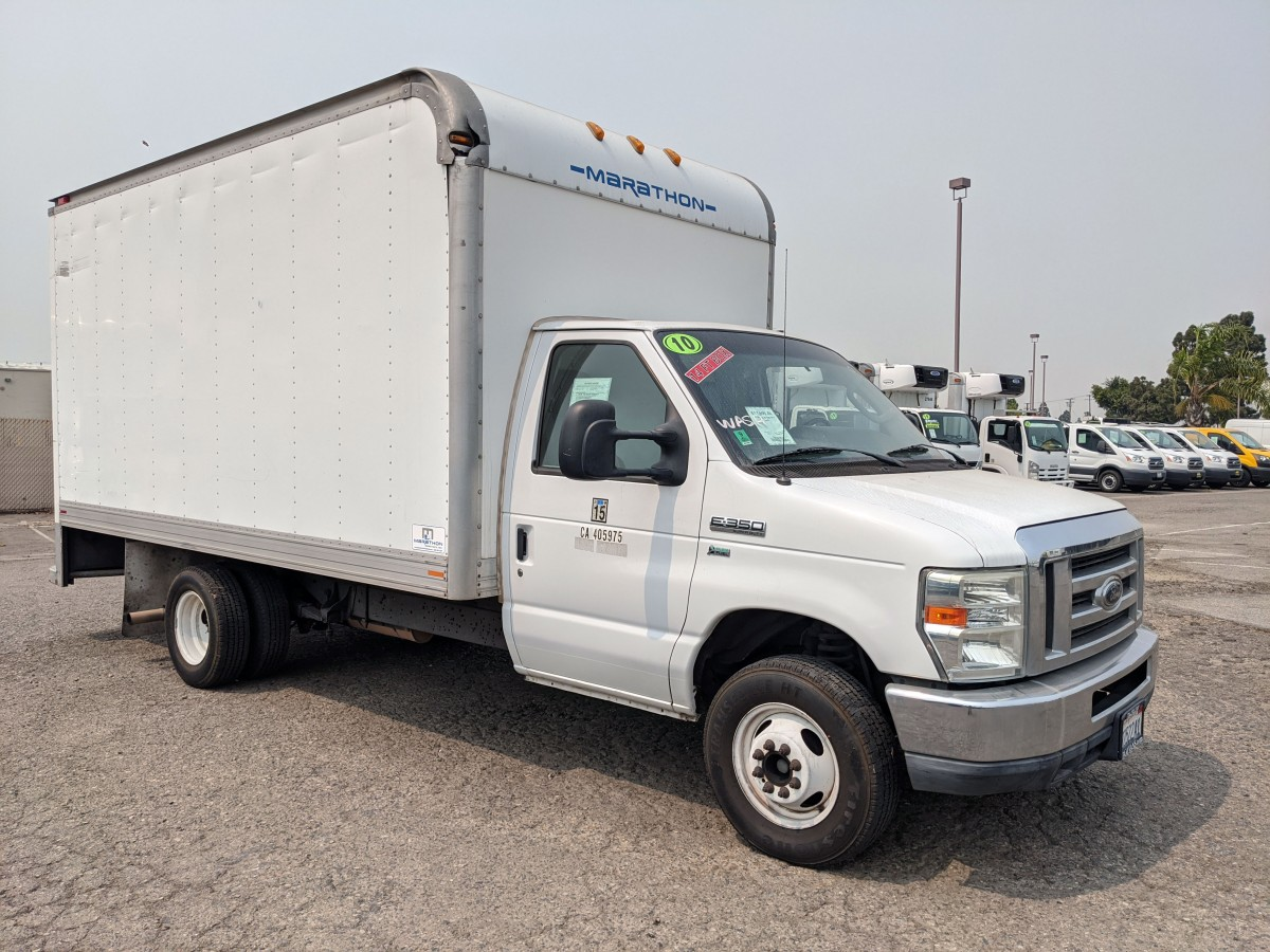 Used 2010 Ford E-350 14FT Box Truck in Fountain Valley, CA