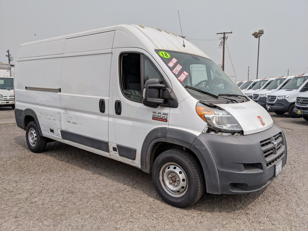 Used 2018 Ram ProMaster 2500 Extended High Roof Cargo Van Ding and Dent in Fountain Valley, CA