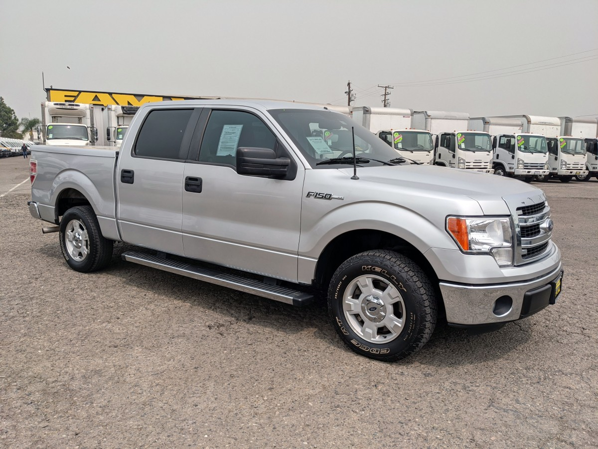 Used 2014 Ford F-150 Crew Cab Pickup Truck in Fountain Valley, CA