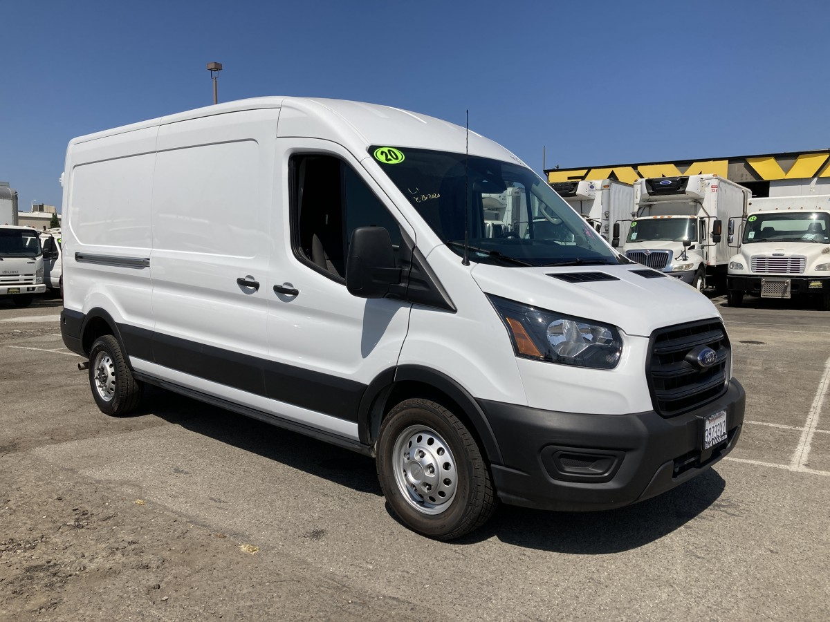 Used 2020 Ford Transit-250 Extended Mid Roof Cargo Van in Fountain Valley, CA