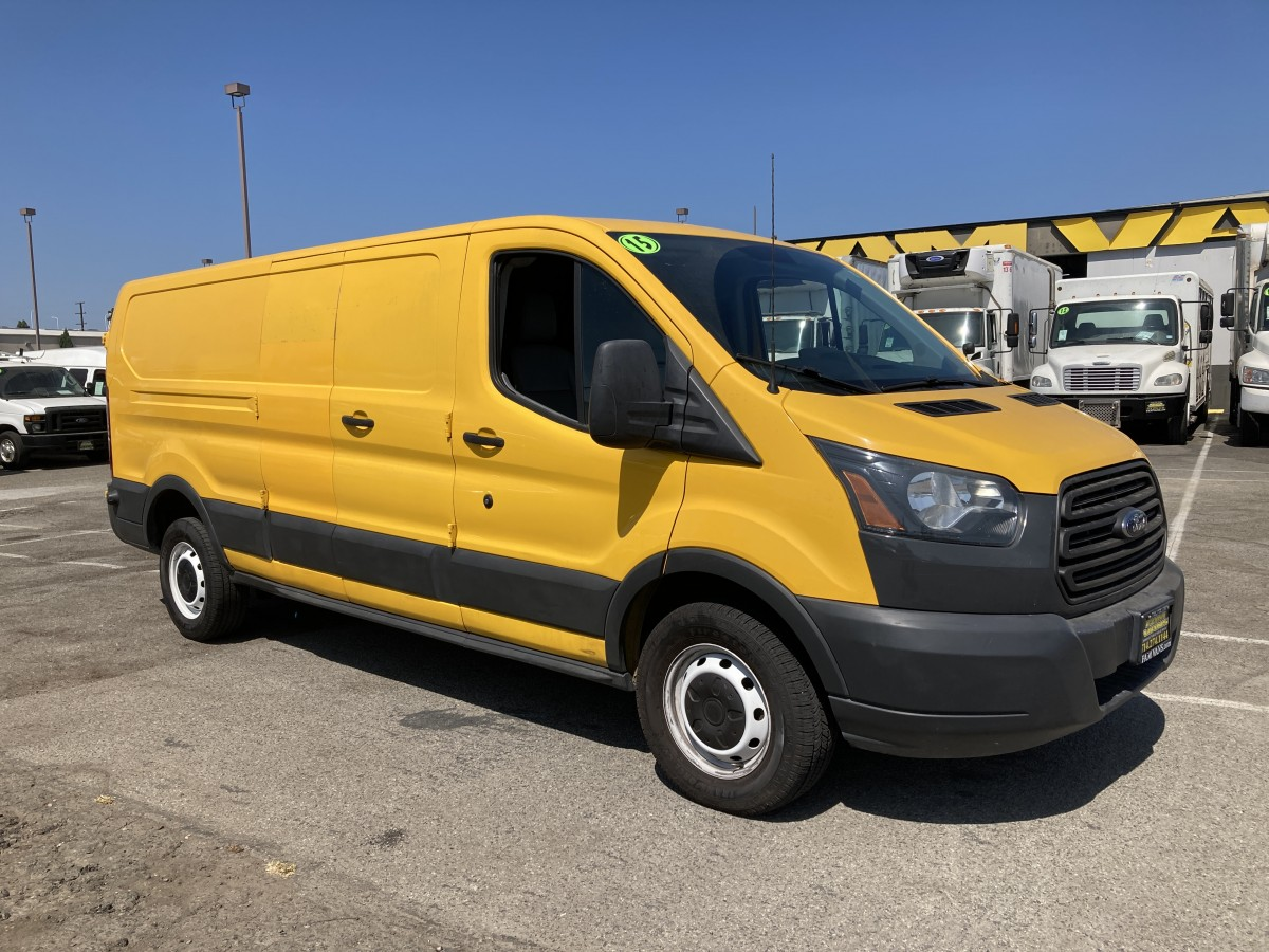 Used 2015 Ford Transit-250 Extended Low Roof Cargo Van in Fountain Valley, CA