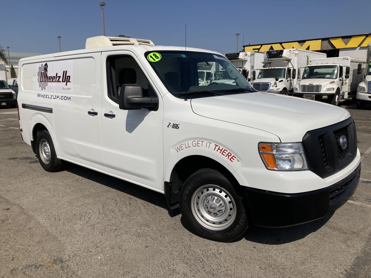 Used 2018 Nissan NV 2500 Refrigeration Reefer Cargo Van in Fountain Valley, CA
