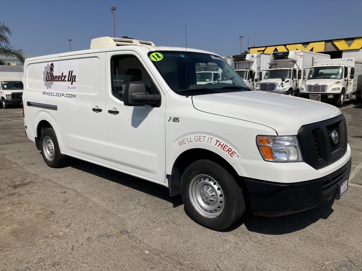 Used 2018 Nissan NV 2500 Refrigeration Reefer Cargo Van in Fountain Valley, CA