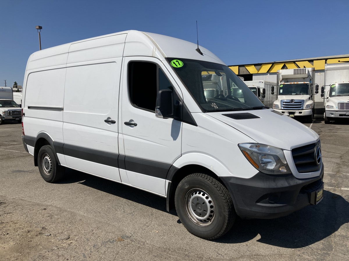 Used 2017 Mercedes-Benz Sprinter 2500 High Roof Cargo Van DIESEL in Fountain Valley, CA