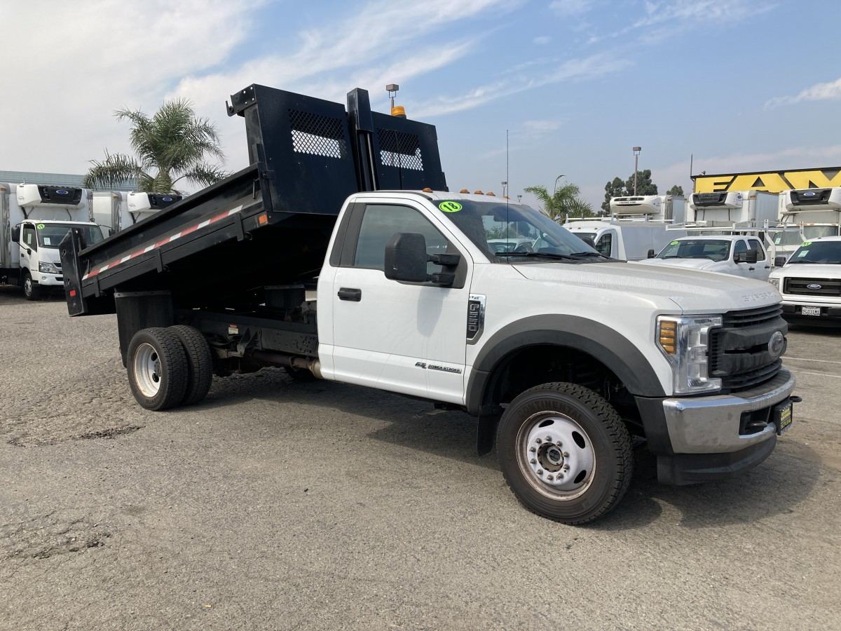 Used 2018 Ford F-550 Dump Truck DIESEL in Fountain Valley, CA