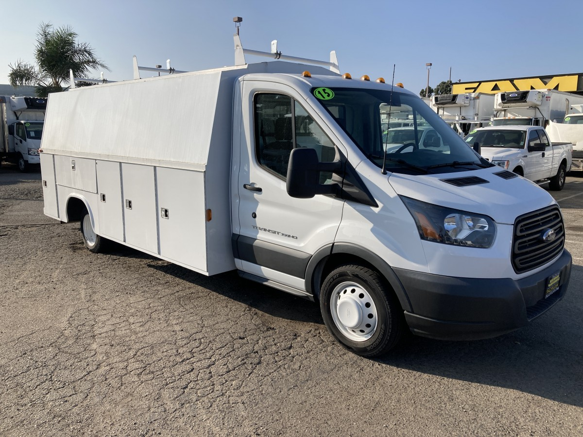 Used 2015 Ford Transit-350 Plumber Truck in Fountain Valley, CA