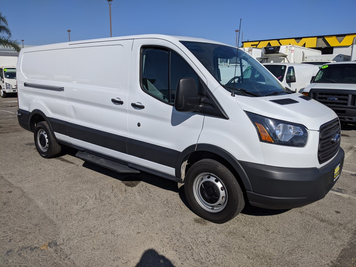 Used 2017 Ford Transit-350 Extended Low Roof Cargo Van in Fountain Valley, CA