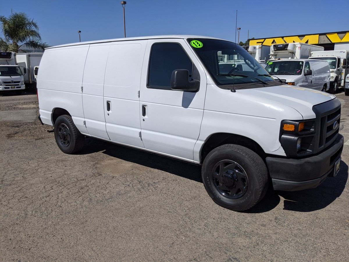 Used 2013 Ford E-150 Cargo Van with Bulkhead in Fountain Valley, CA