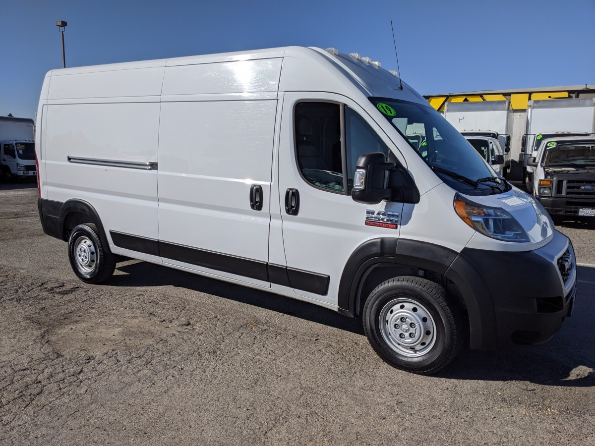 Used 2019 Ram ProMaster 2500 Extended High Roof Cargo Van in Fountain Valley, CA