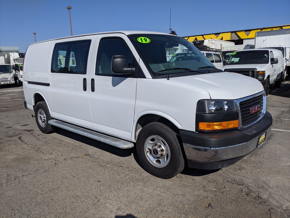 Used 2019 GMC Savana 2500 Cargo Van with Bulkhead in Fountain Valley, CA